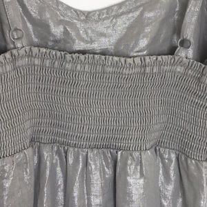 Tommy Bahama Dresses - Tommy Bahama silver metallic linen dress. Small